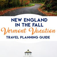 Vermont in the fall- planning a leaf-peeping vacation to Vermont #vermont #vt #fallvacation #october #newengland #newhampshirevacation #vermontvacation #fallleaves #leafpeeping #bedandbreakfast #autumn