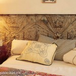 tin tile headboard