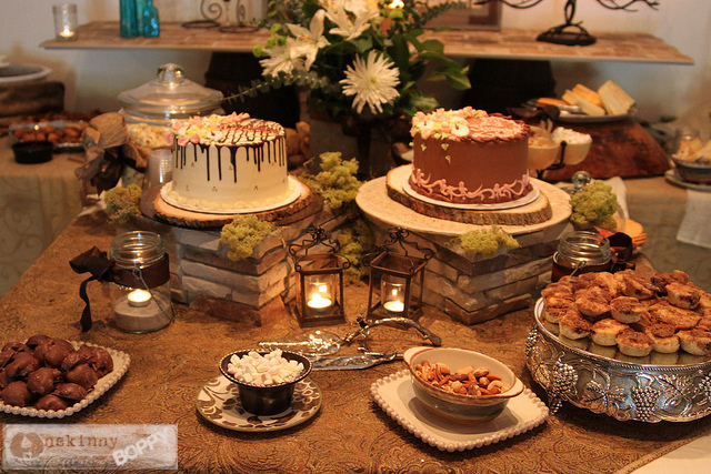 a rustic elegant couples shower unskinny boppy