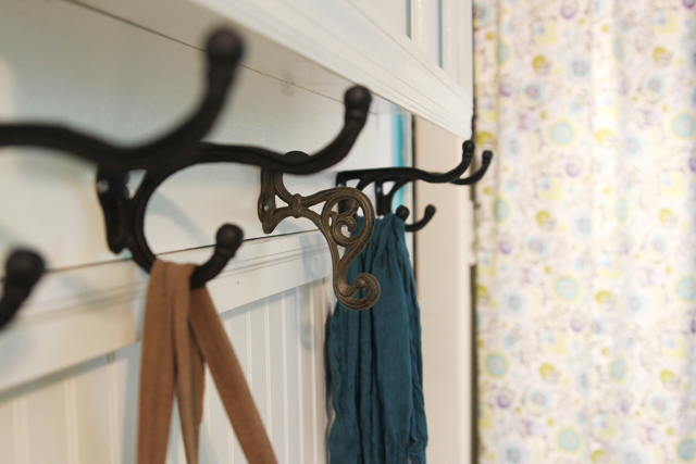 Mudroom coat racks