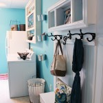 laundry room makeover, mud room bench