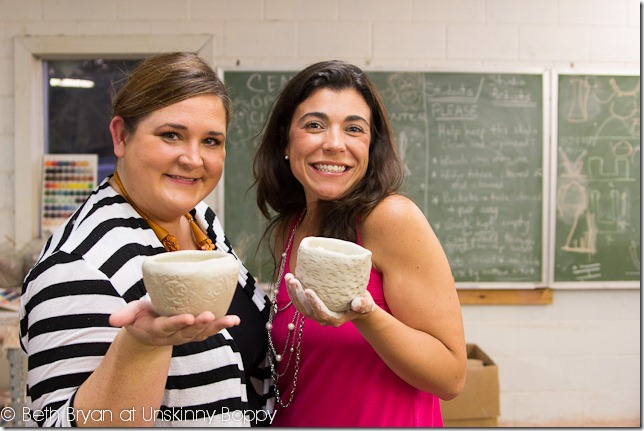 Earthborn Pottery Class - Alabama Bloggers (7 of 17)