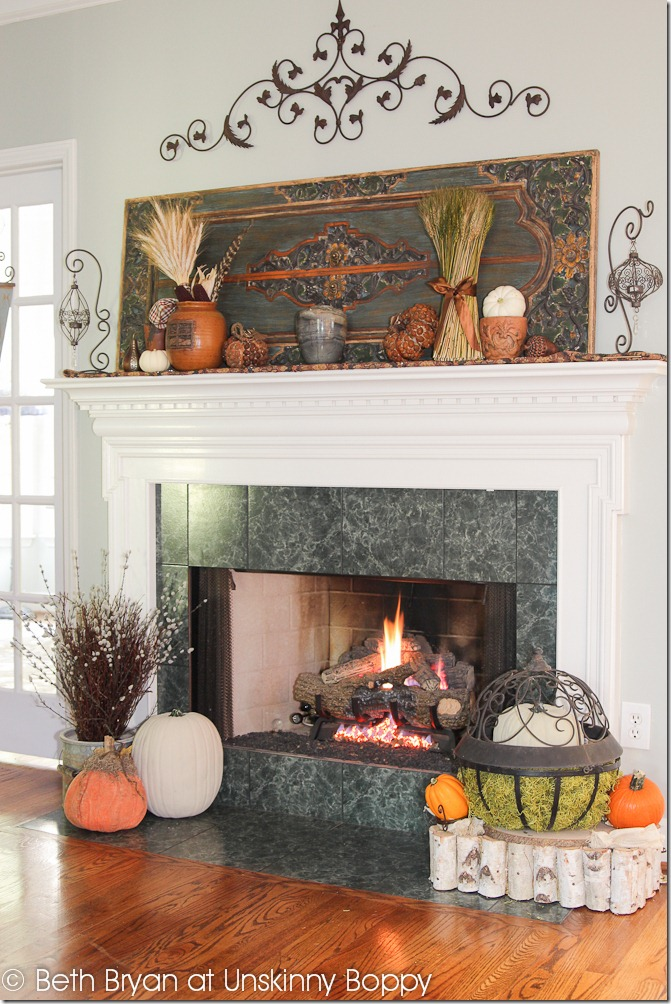 Mantel Decorating Ideas Casual Cottage