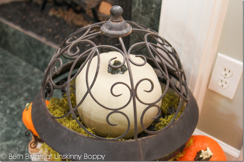 Fall and Thanksgiving Mantel decorating ideas-8