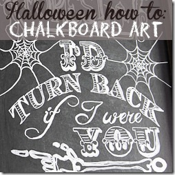 Halloween Chalkboard Art button 250