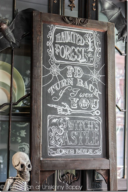 Krylon Chalkboard Paint Halloween Ideas-10