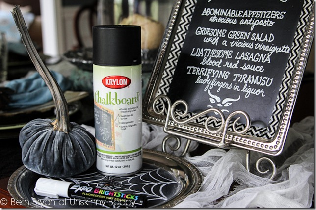 Krylon Chalkboard Paint Halloween Ideas-16