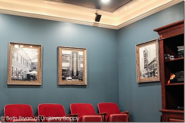 Basement theater room poster framing ideas (10 of 18)