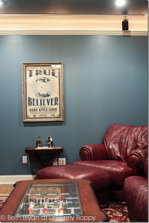 Basement theater room poster framing ideas (14 of 18)