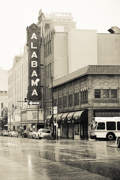 Click for a free download of the high-resolution image of The Alabama Theater