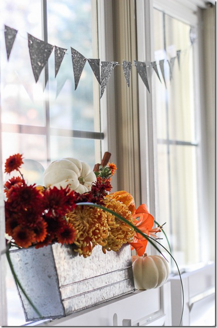 Faux DIY Galvanized bunting tutorial  (14 of 16)