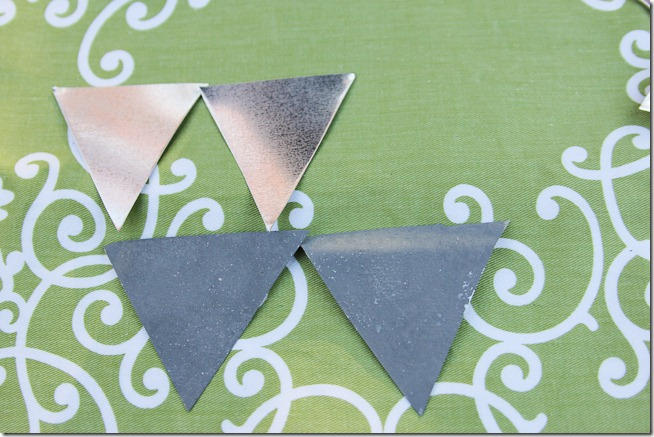 Faux DIY Galvanized bunting tutorial  (3 of 16)