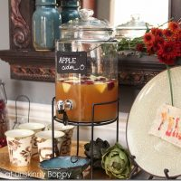 Tablescapes and other thoughts on hosting my first Thanksgiving