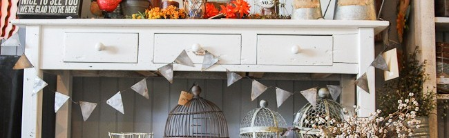 DIY Galvanized Metal Bunting Tutorial