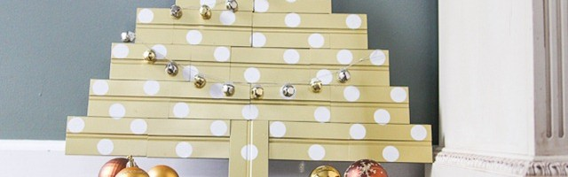 DIY Bead Board Christmas Tree