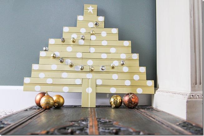 Gilded Scrap Wood Christmas Tree tutorial_-5