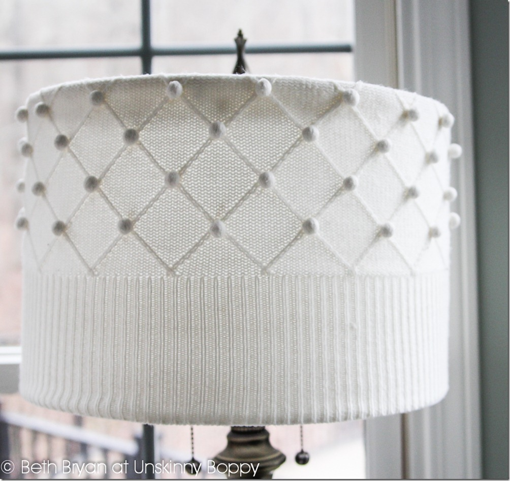 DIY Sweater Lampshade Tutorial by Unskinny Boppy (www.unskinnyboppy.com) (2)