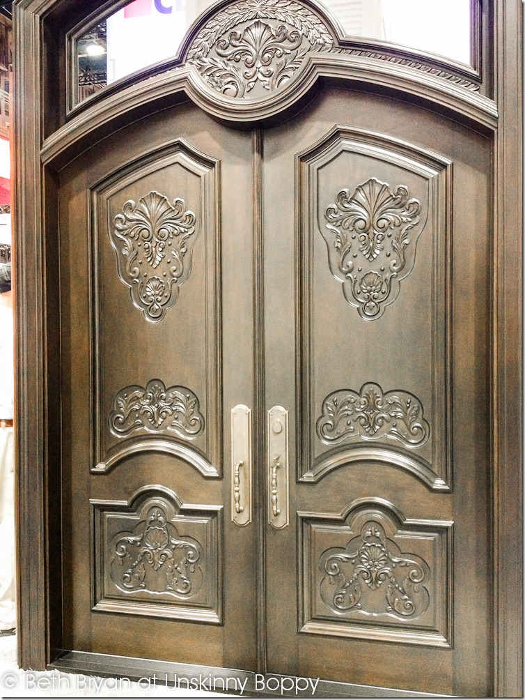International Builders' Show Las Vegas 2013 gothic entry doors