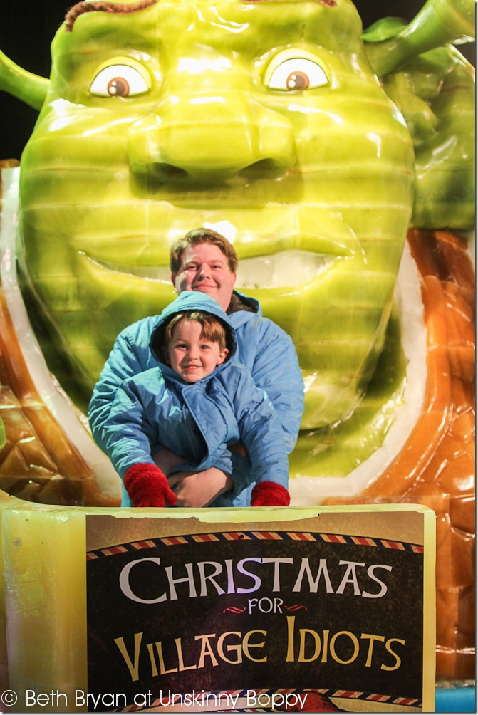 New Years Eve 2012 - Shrek the halls at the Opryland Hotel Nashville_