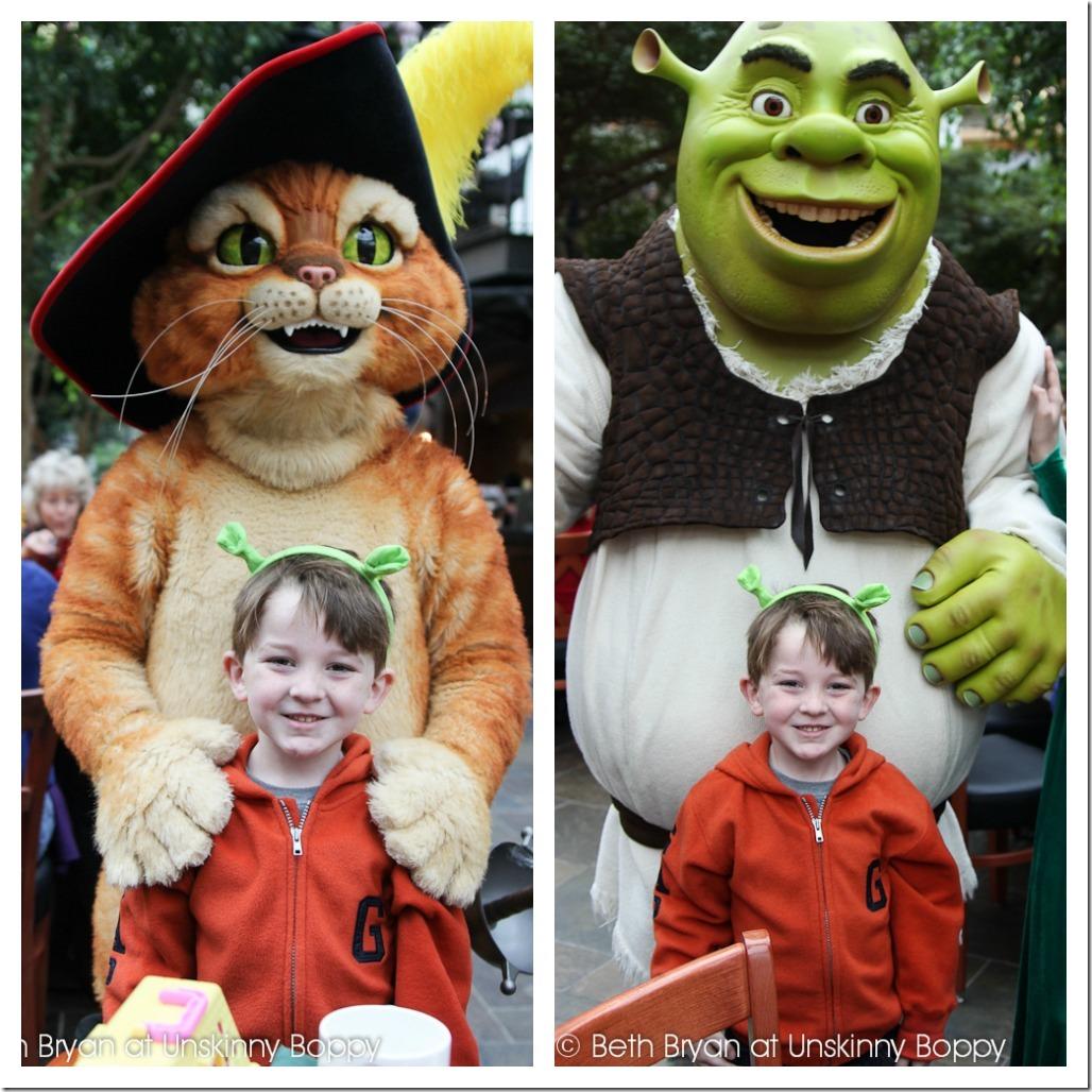 Shrek Breakfast