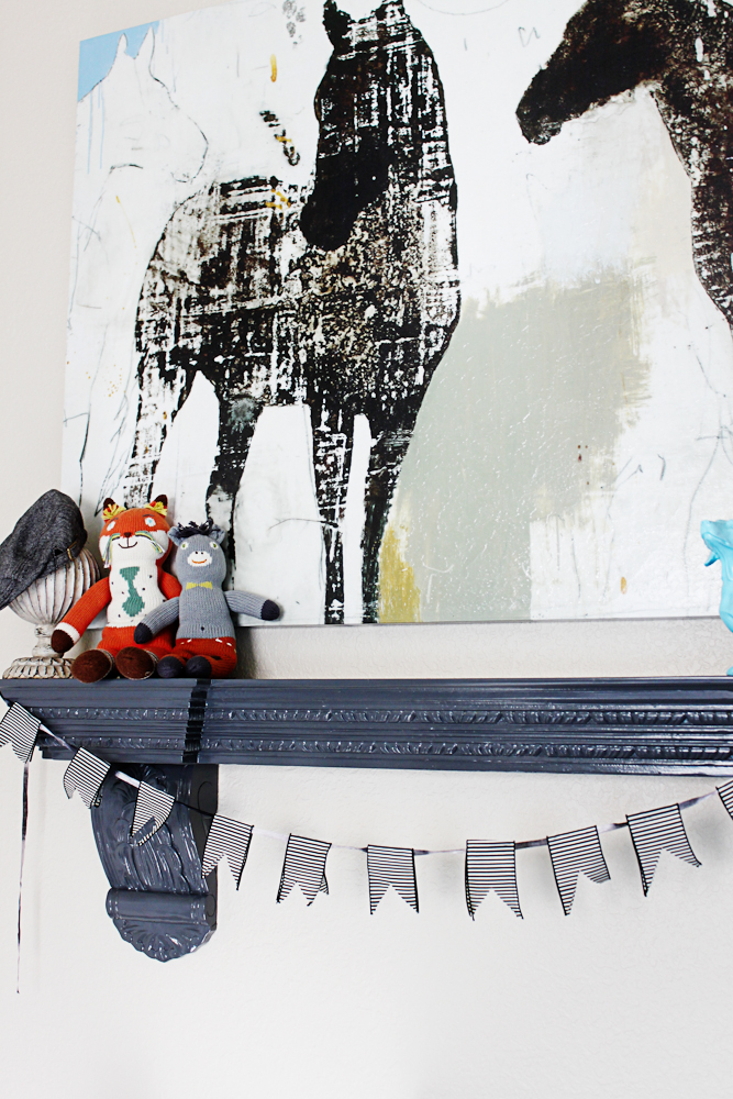Big Boy Bed and toddler decorating ideas - a little glass box-2