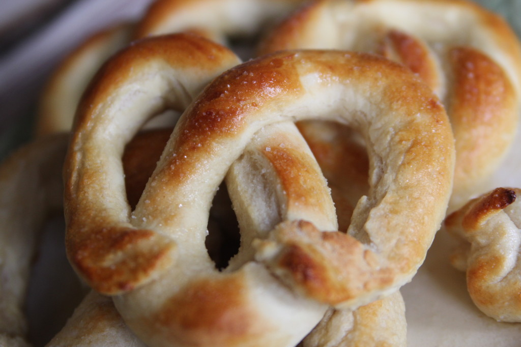 How to make soft pretzels at home- it's easy!
