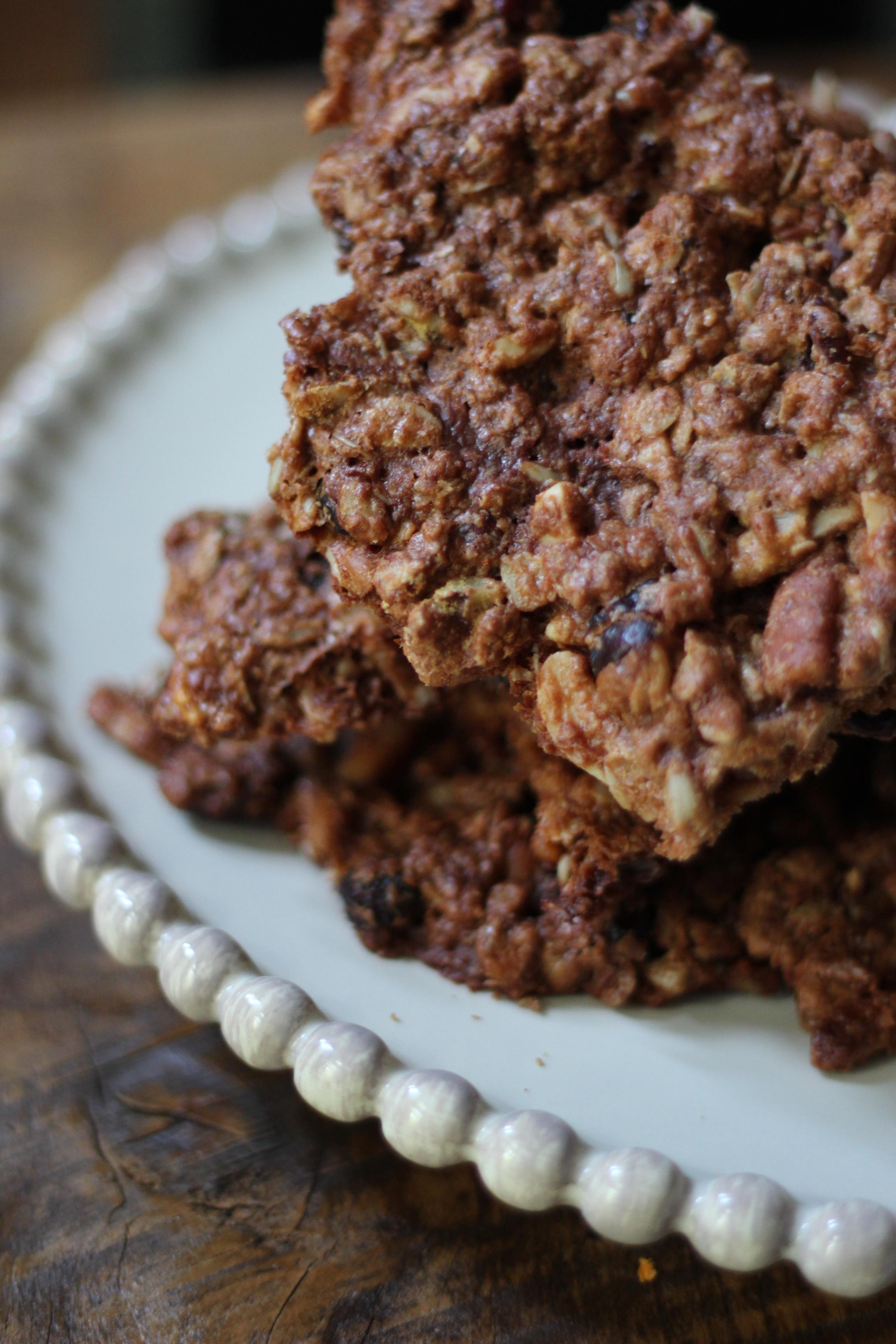 Chocolate Granola Bark recipe