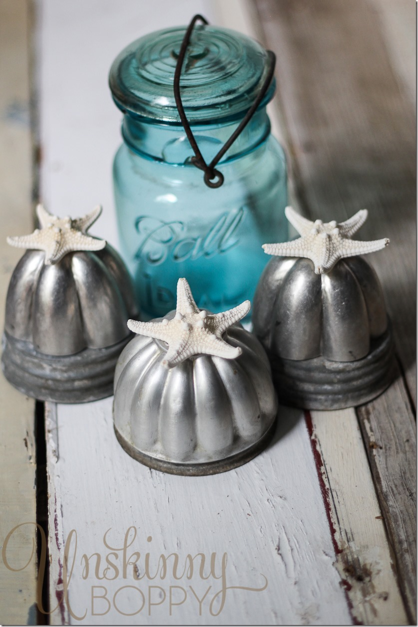 Decorating with Vintage Jello Molds (2 of 4)
