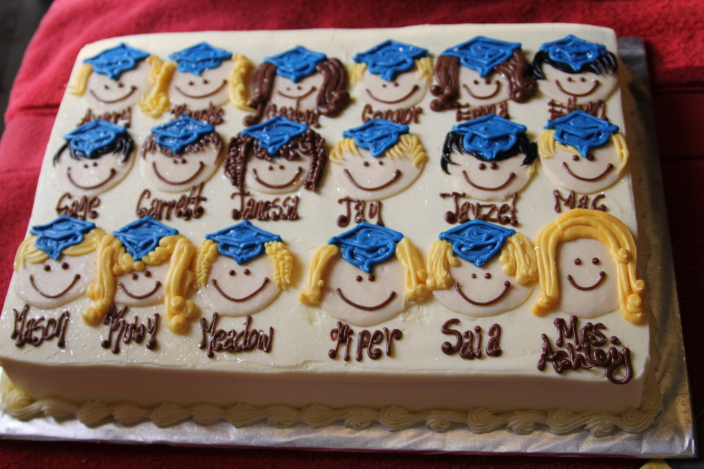 Preschool Graduation Cake idea