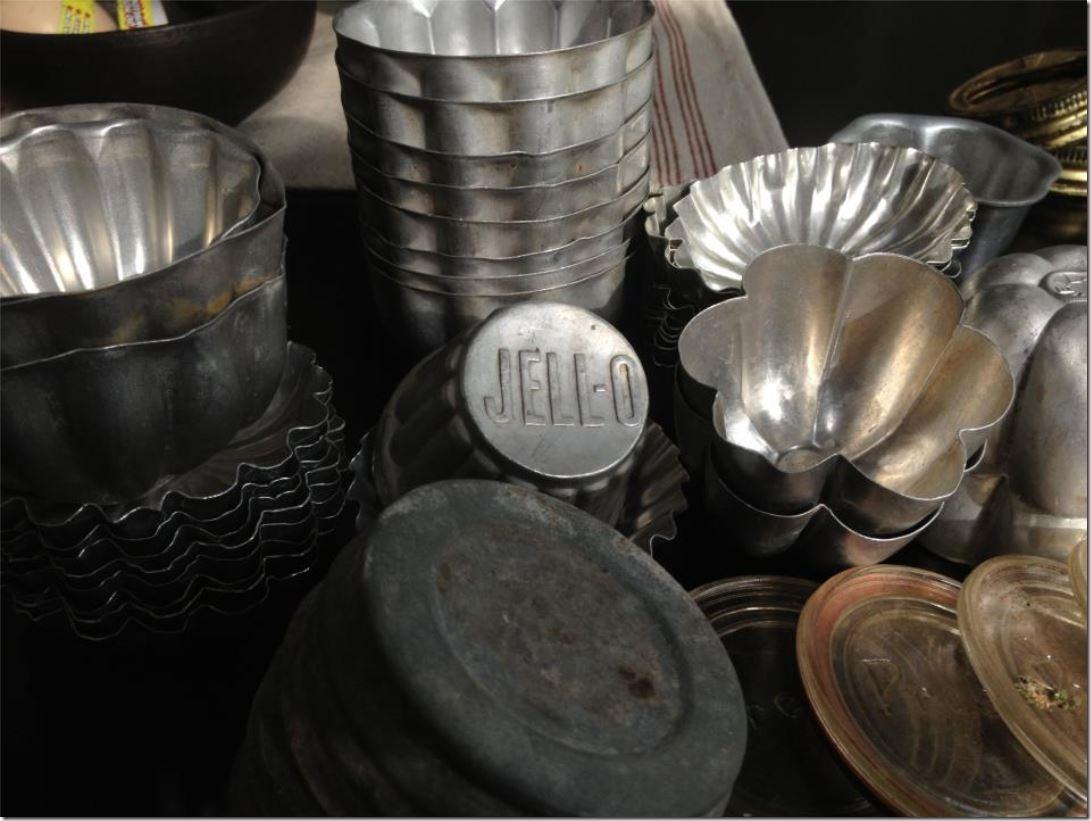 vintage jello molds