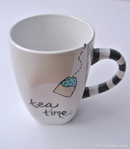 Painted glass ideas with jocie from one project closer for How to paint a mug