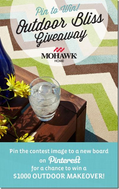 #OutdoorBliss #Mohawk I love this indoor/outdoor rug!