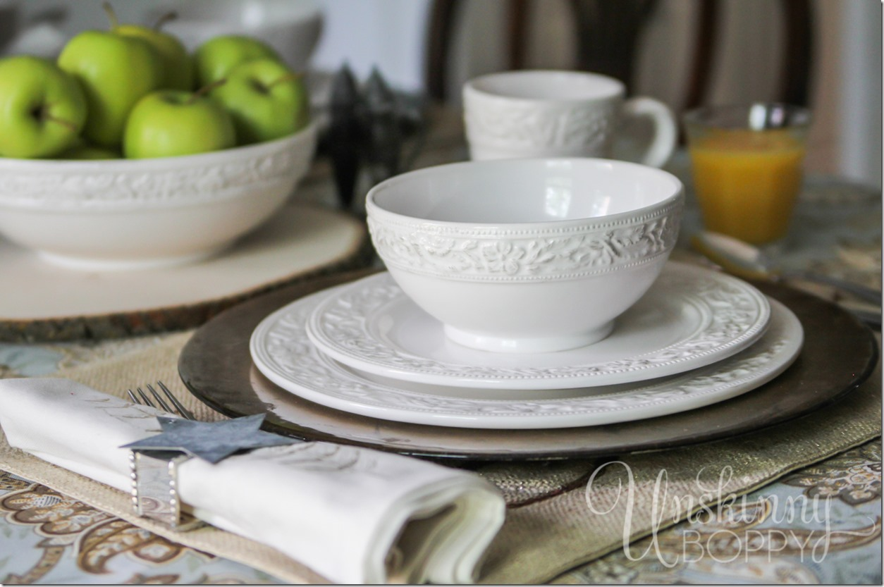 Pfaltzgraff Country Cupboard place settings GIVEAWAY