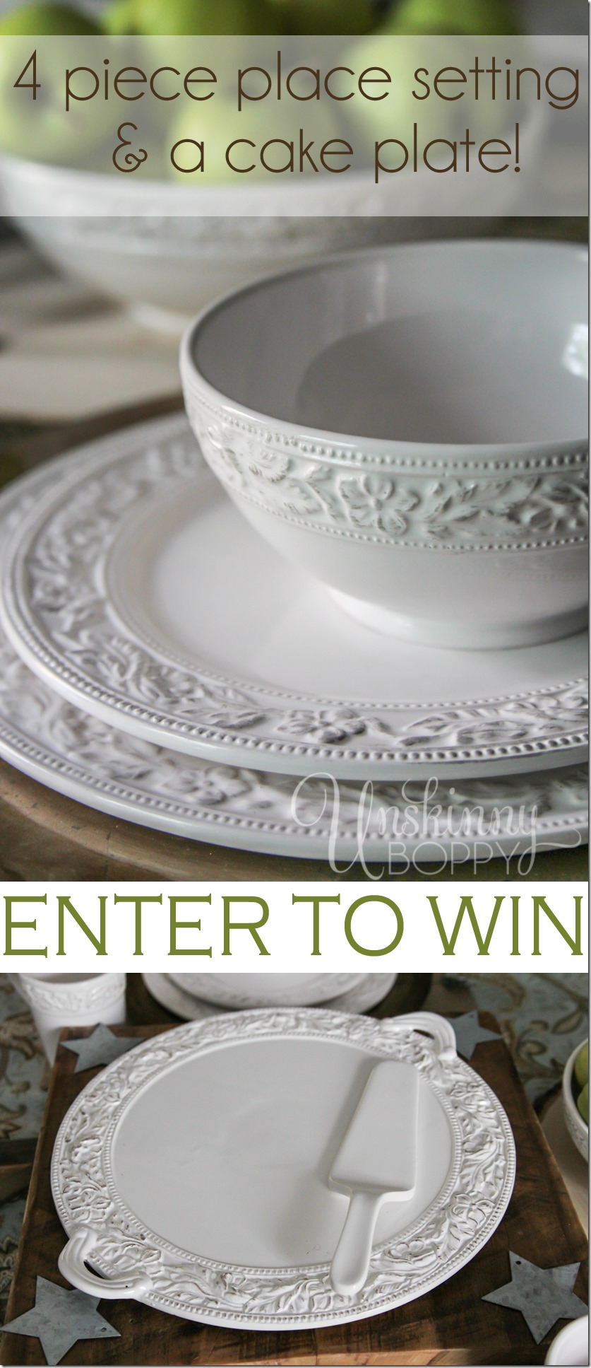 Win new dishes from Pfaltzgraff!