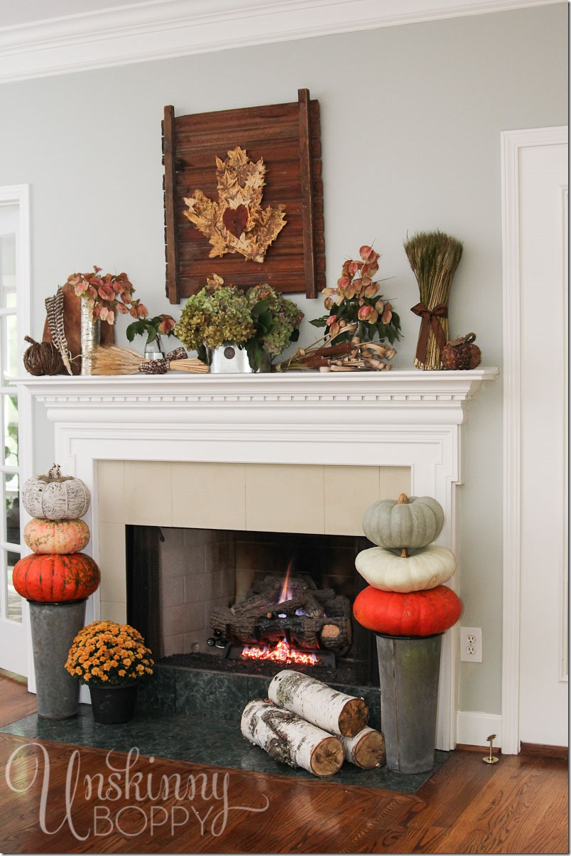 fabulous fall party fall decorating with nature. Black Bedroom Furniture Sets. Home Design Ideas