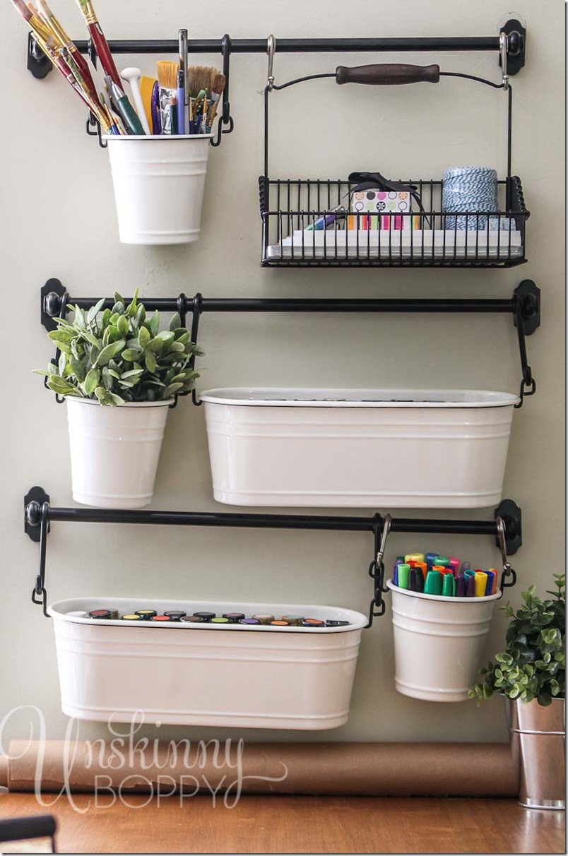 IKEA Craft Room Organization Storage 804 x 1212