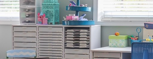 The Most Amazing Scrapbooking Room You Ever Did See.