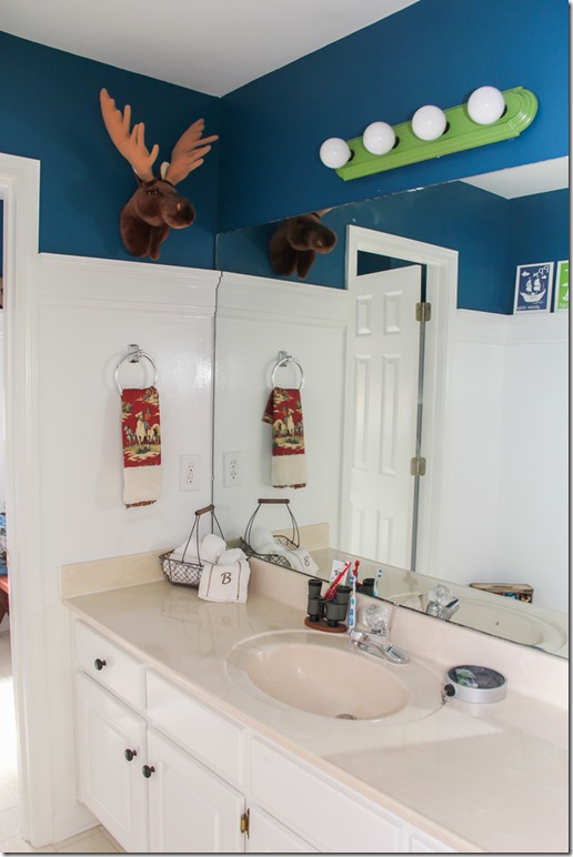 Rustic Boys Bathroom Makeover-13