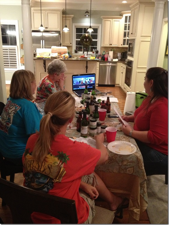 We all couldn't be in the same room for our Wildtree Freezer Meals Workshop so we made it a virtual hang out.