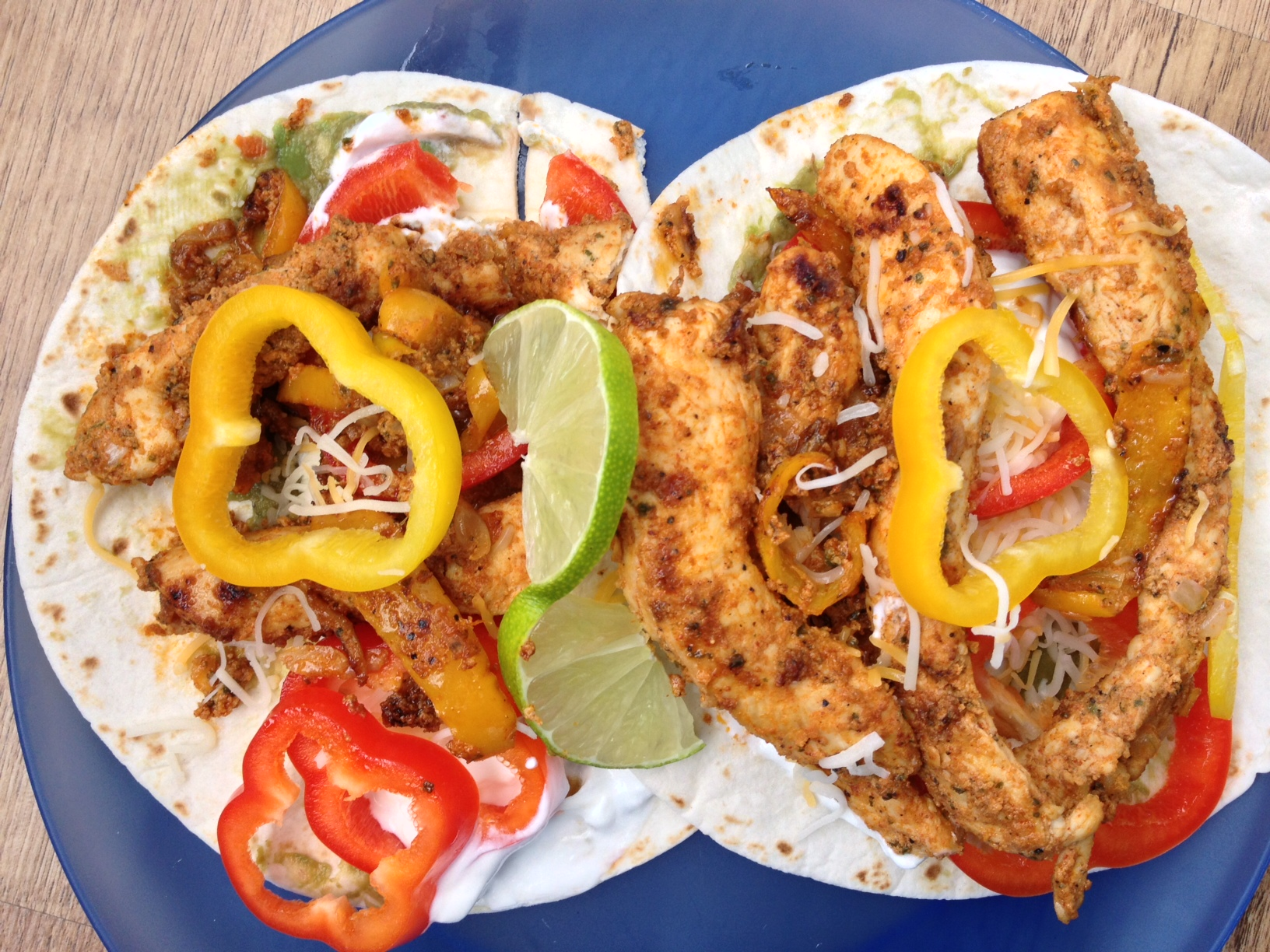Wildtree chipotle lime fajitas
