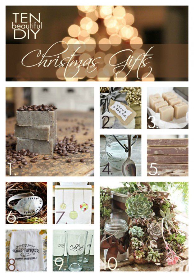 A Handmade Christmas: 10 DIY Christmas gifts you can make from scratch - Unsk...