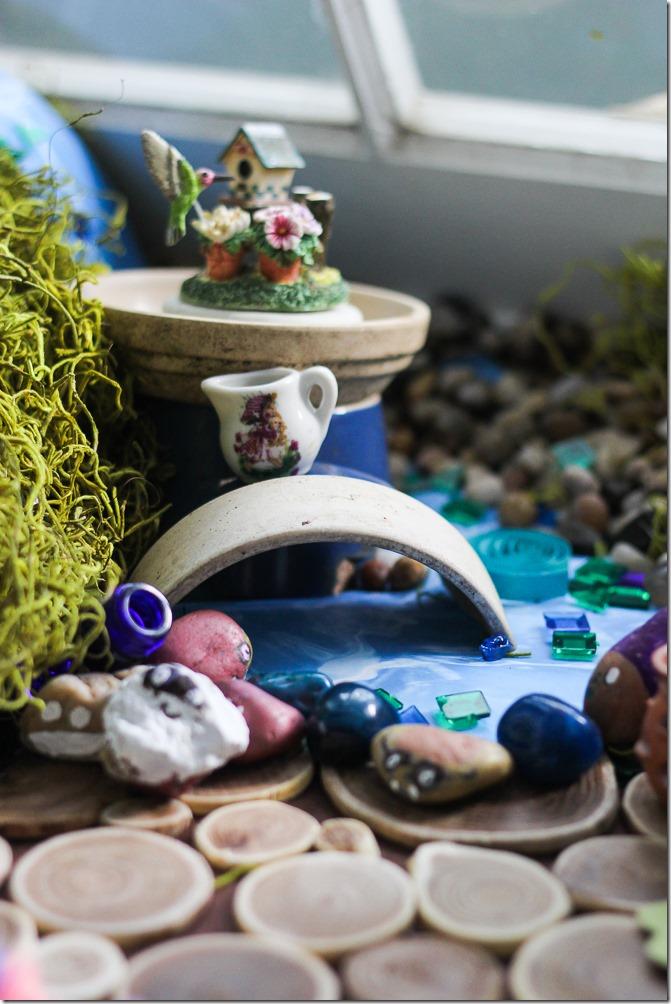 Garden details in my DIY Fairy Garden