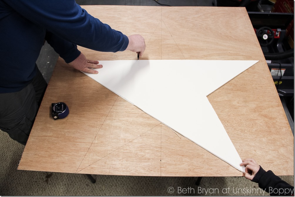How to DIY a scrap wood star-22