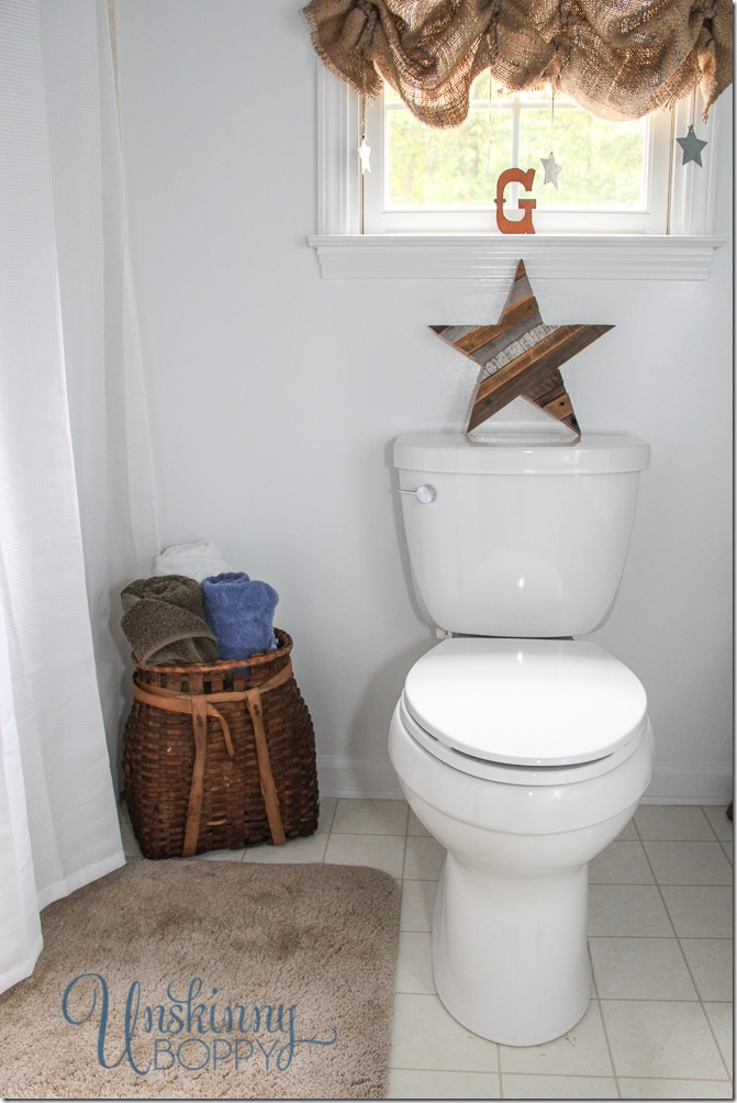 more deets on the rusty old bathroom reveal unskinny boppy rh unskinnyboppy com Boys Bedroom Ideas Rustic Wood Boy Rustic Bathroom with Wooden Floors