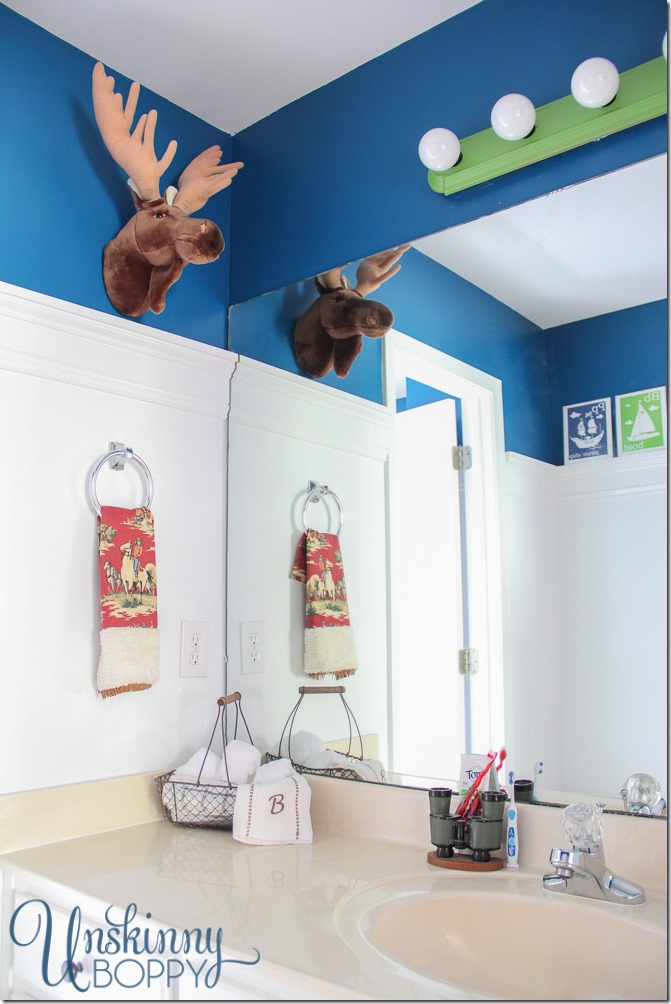 Rustic Boys Bathroom Makeover-2