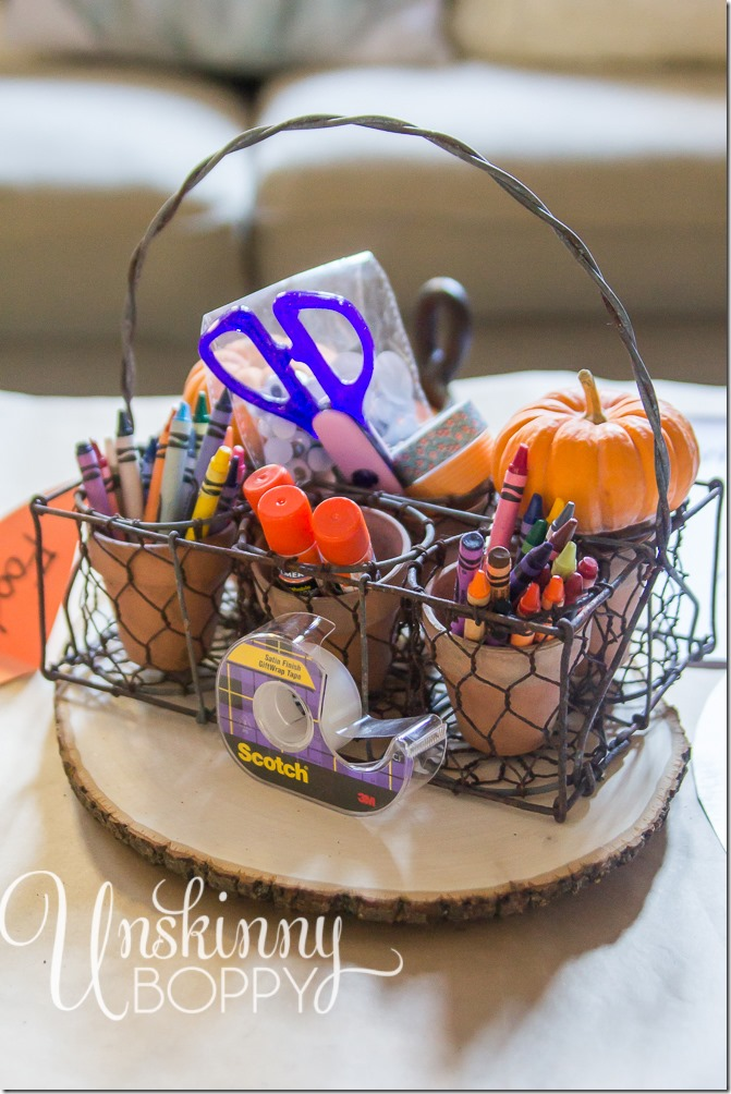 Thanksgiving Kids Table Idea Crafts for kids