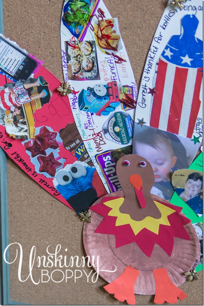 Thanksgiving Kids Table Idea- Start a Family Tradition with DIY feathers