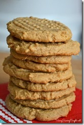 3-ingredient-peanut-butter-cookies, 5 Perfect Christmas Cookies, Beth Bryan, unskinnyboppy, Mohawk Homescapes, holiday cookies