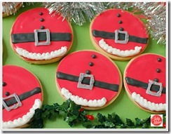 Santa-Bellies, 5 Perfect Christmas Cookies, Beth Bryan, unskinnyboppy, Mohawk Homescapes, holiday cookies