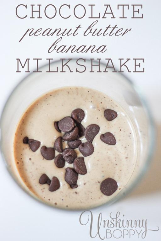 how to make banana milkshake recipe